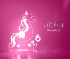 Veioza Aloka unicorn
