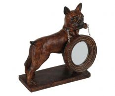 Oglinda mica si suport Dog
