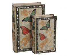 Set de 2 cutii Butterflies