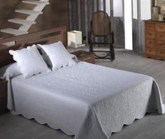 Set de pat Emma Blanco 180x270cm
