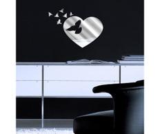 Sticker-oglinda Doves flitting