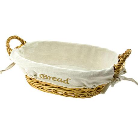 Koszyk na pieczywo Beige Natural