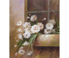 Tablou White Flowers