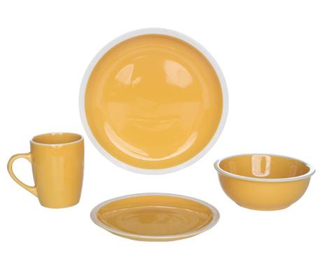 16-dijelni servis za jelo Inca Yellow