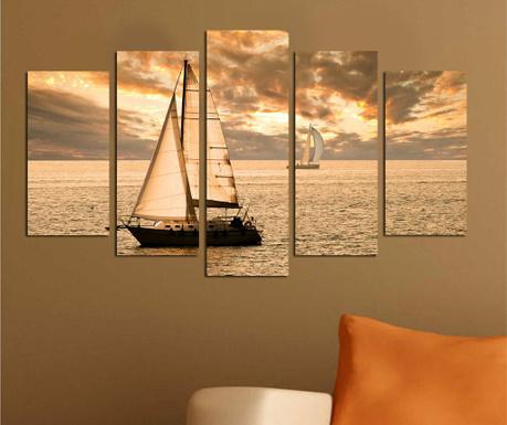 Set 5 tablouri Ocean