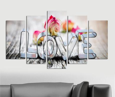 Set 5 tablouri Ice Love