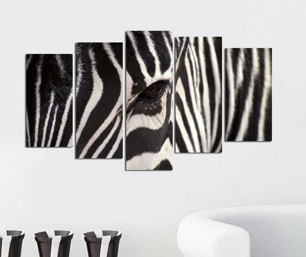 Set 5 tablouri Zebra
