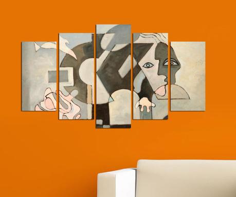 Set 5 tablouri Geometric Vision