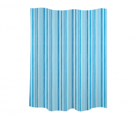 Душ завеса Stripes Blue 180x200 см