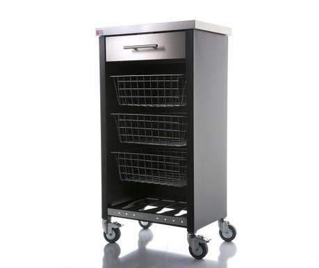Kuchyňský vozík Chelsea Black