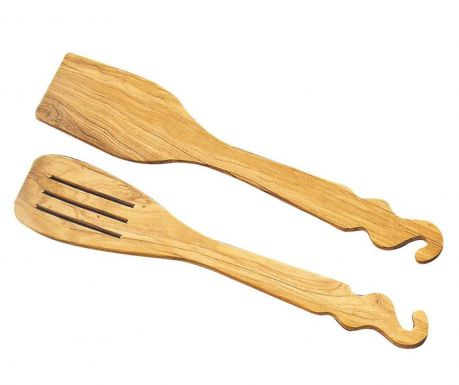 Set of 2 spatulas Country
