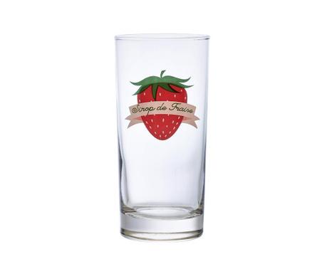 Sada 6 sklenic Fraises 290 ml