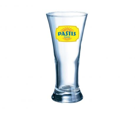 Sada 6 sklenic Pastis Pilsner Yellow 190 ml