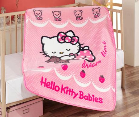 Lezárult akció Hello Kitty Dream Time Takaró gyerekeknek 100x120 cm 10d9a956fb