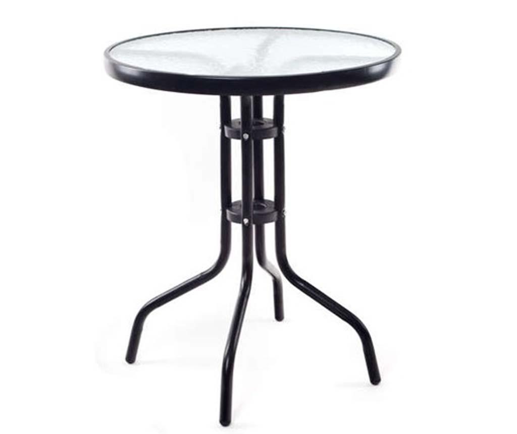 Stolić za vanjski prostor Simple Black