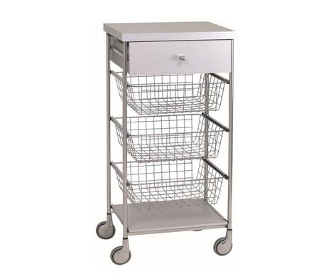 Kuchyňský vozík Afinity Silver