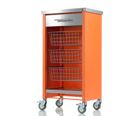 Kuhinjska kolica Chelsea Orange