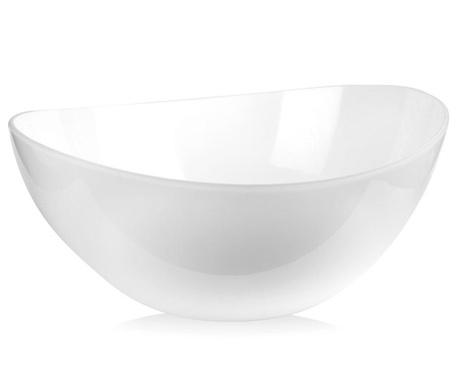Skleda za solato Livio White 1 L