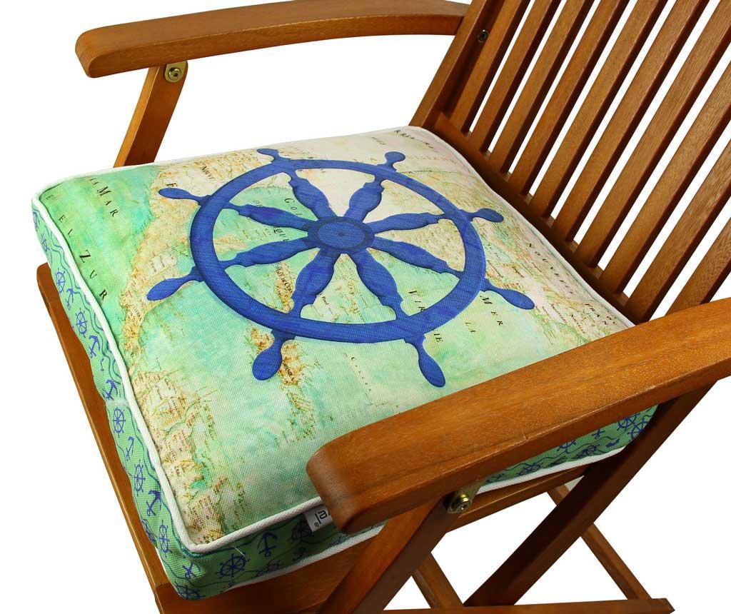 Jastuk za sjedalo Blue Helm 42x42 cm