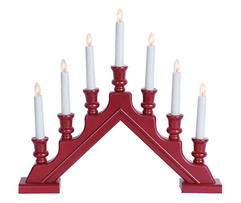 Svjetleći ukras Red Sara