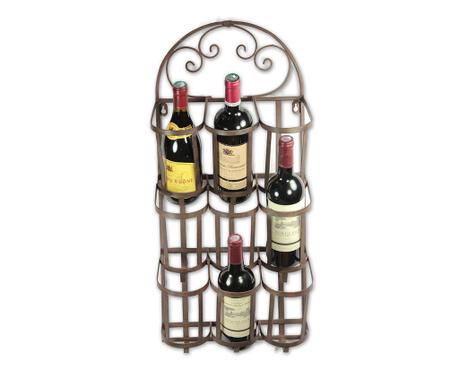 Стенна поставка за бутилки Vino Swirls