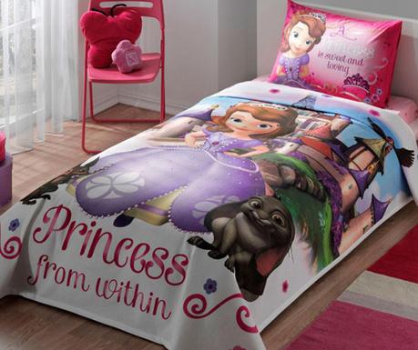 Lezárult akció Disney Sofia Egyszemélyes Takaró szett 477bf136f4