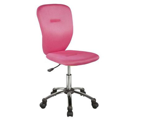 Dětská kancelářská židle Smooth Pink