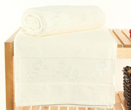 Supima Cream 2 db Fürdőszobai törölköző 70x140 cm