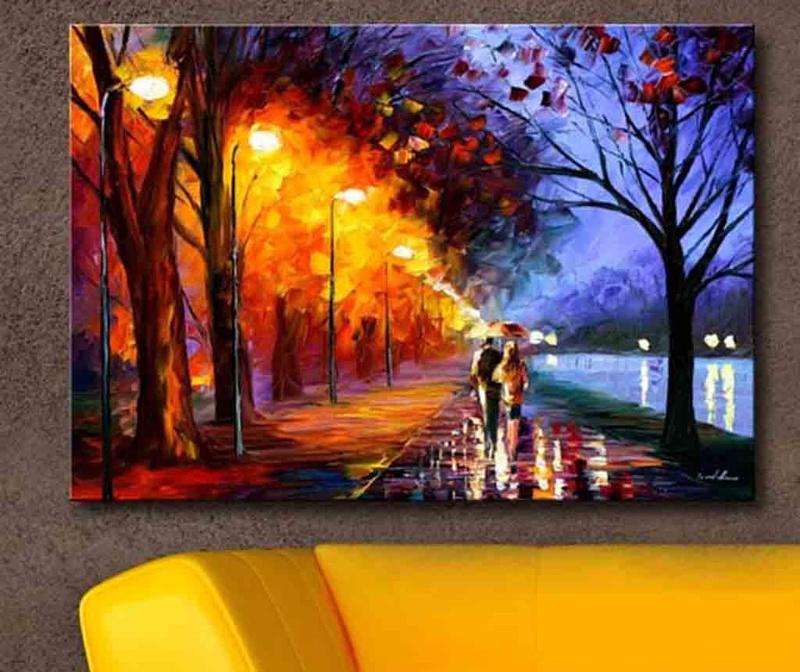 Obraz Rain 45x70 cm