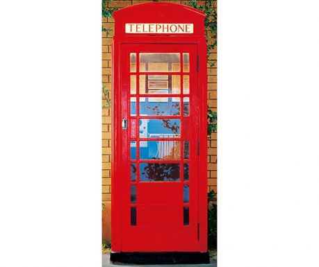 Тапет Telephone Box 86x200 см