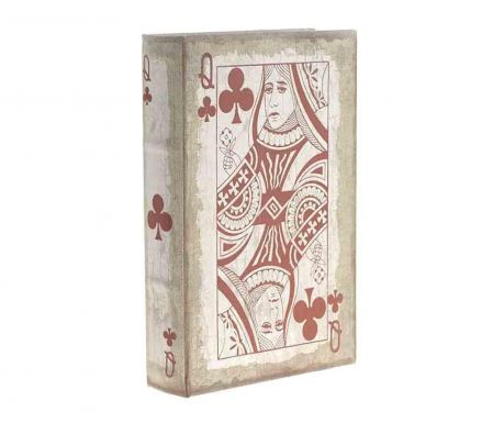 Krabice typu kniha Red Clubs