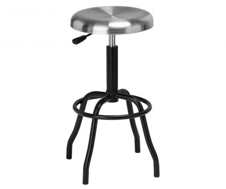 Bar stool Factory Silver