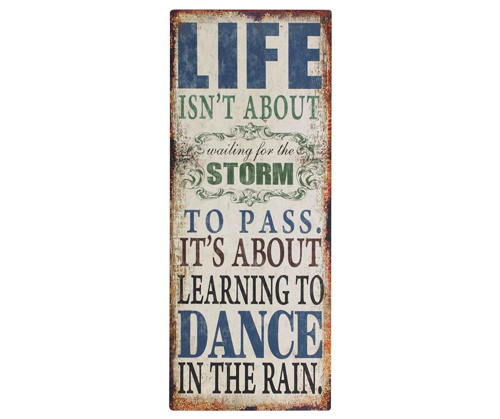 Stenska dekoracija Life is Dance