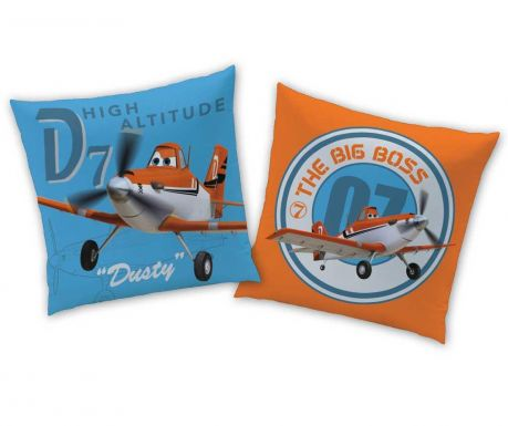 Perna decorativa Disney Planes Dusty 40x40 cm