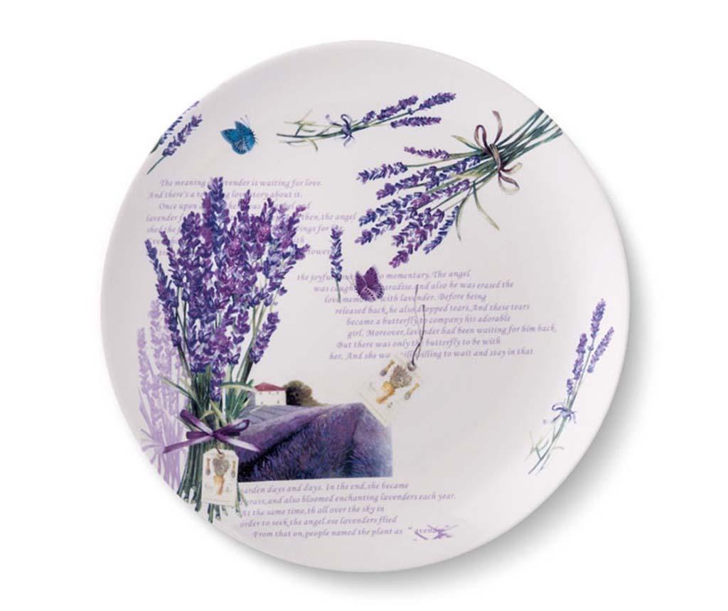 Set 6 plitkih tanjura Lavender 24 cm