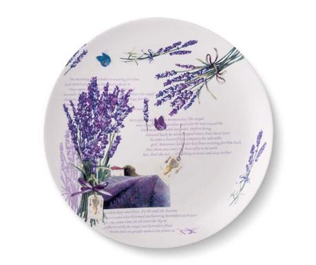 Sada 6 plytkých tanierov Lavender