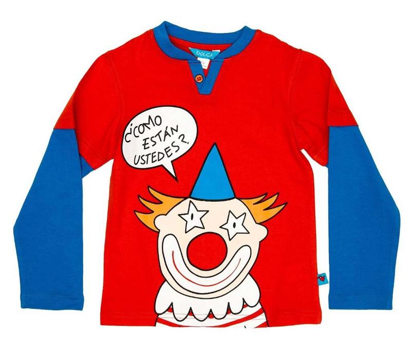 Bluza copii Clown 6 ani