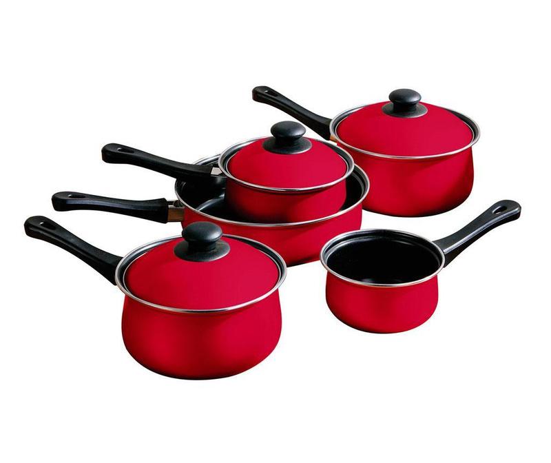 Belly Pan Red 8 darabos  Főzőedény szett