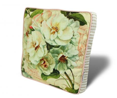 Vankúš na sedenie Lovely Flowers 42x42 cm
