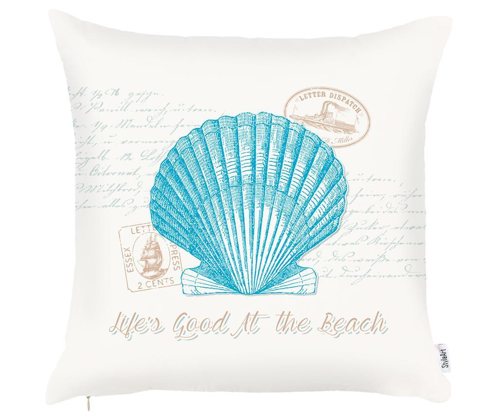 Jastučnica Seashell Aquamarine 43x43 cm