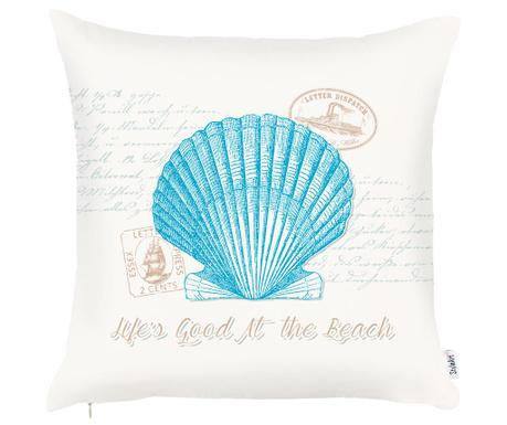 Калъфка за възглавница Seashell Aquamarine 43x43 см