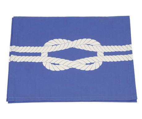Тишлайфер за маса Rope Blue 40x140 см