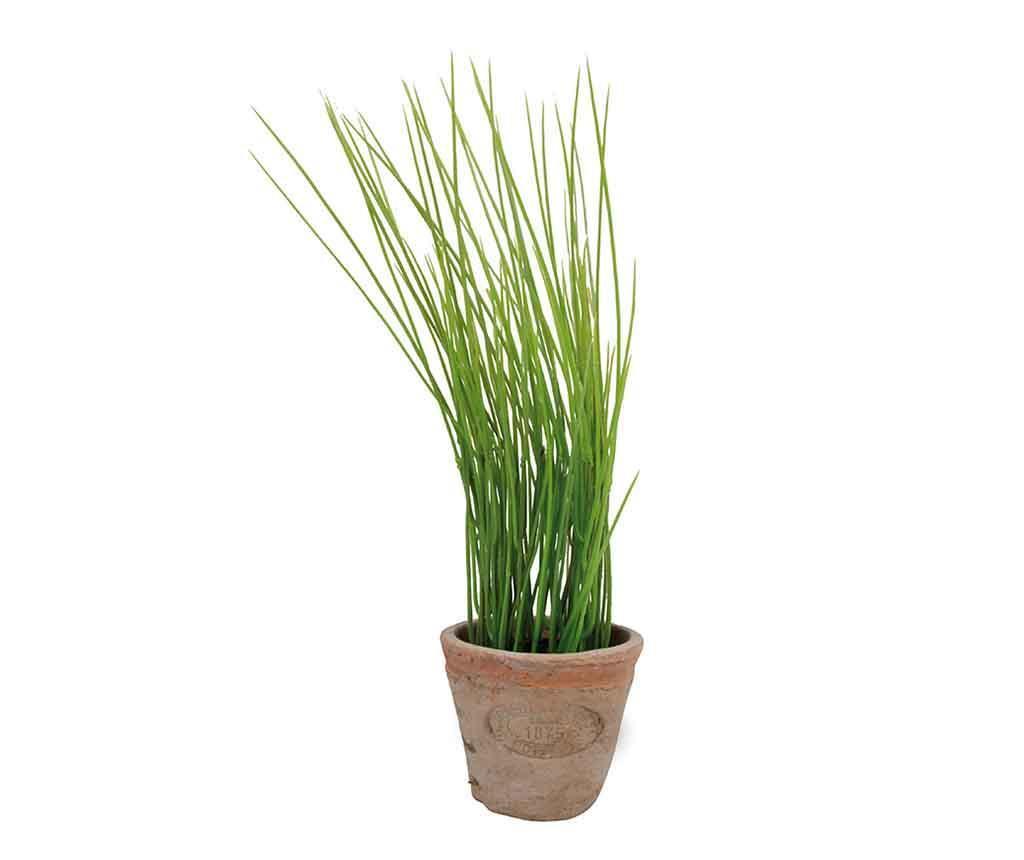 Planta artificiala in ghiveci Chives
