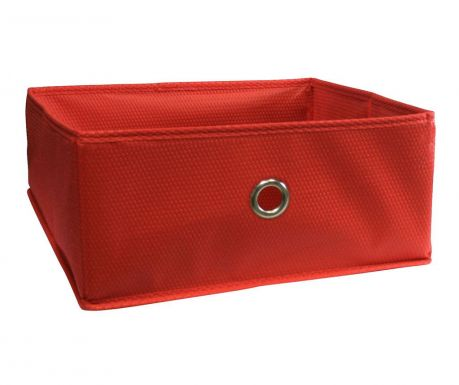 Storage basket Kos Half Cube Red