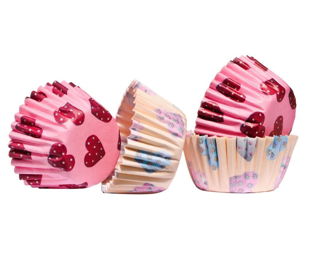 Mini Hearts 100 db Muffin sütőforma