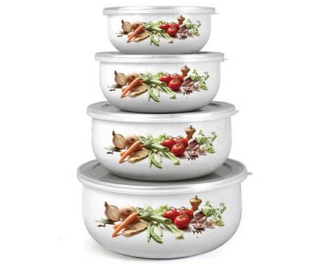 Комплект 4 кутии Vegetables
