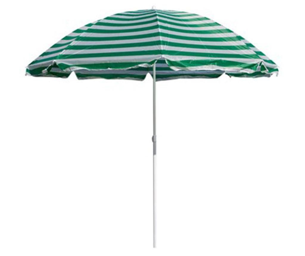 Parasol plażowy Beach Stripes Green