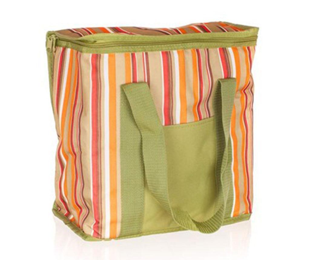 Stripes Orange Hőszigetelt táska