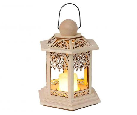 LED lucerna Lace Beige