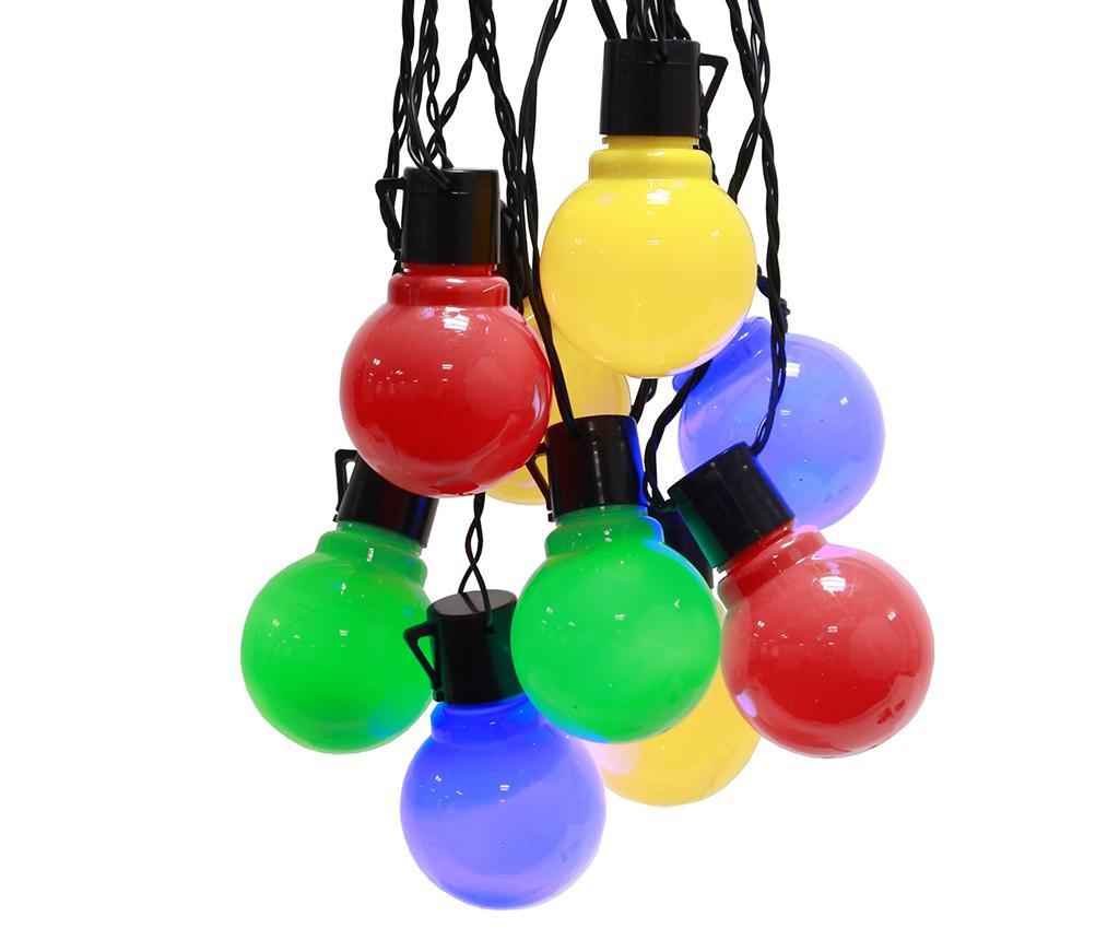Ghirlanda luminoasa pentru exterior Colourful Bulbs 450 cm